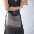 Description กระเป๋าขนาดกะทัดรัด สำหรับคุณผู้หญิงที่ต้องการแยกของจัดให้เป็นระเบียบ และไม่ชอบกระเป๋าที่มีฝาเปิด-ปิดให้รำคาญใจ มาพร้อมกับปกระเป๋าเครื่องสำอางใบเล็กน่ารัก แต่งโซ่ด้านข้าง จะถือหรือสะพาย ก็น่ารักไปอีกแบบ  + โทนสี : ดำ Black / กากี + กระเป๋าเครื่องสำอาง 1 ใบ + ขนาด : 12x21x16 cm (กว้างxยาวxสูง)  + วัสดุกระเป๋า : Imported Premium PU  + สาย (57 cm)  การดูแลรักษา + ใช้ผ้าหมาดๆ เช็ดทำความสะอาด + ไม่ควรนำไปแช่น้ำหรือซัก + ไม่ควรใช้น้ำยาขัดเคลือบกระเป๋า + ควรเก็บกระเป๋าไว้ในถุงผ้าสำหรับเก็บกระเป๋าโดยเฉพาะ + การยัดไส้กระเป๋าด้วยกระดาษจะช่วยรักษารูปทรงได้  #กระเป๋า #กระเป๋าถือ #กระเป๋าผู้หญิง