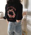 LoveHate T-Shirt เสื้อยืดสีดำ ผ้าคอตตอน100%  พิมพ์ลาย ด้านหน้า - หลัง  วัสดุ :: Cotton 100% ไซส์ :: L  ไหล่ 48 / หน้าอก 98 / ความยาว 63 /แขน 24 cm. สี :: ดำ Black  #เสื้อยืด #เสื้อยืดคอกลมแขนสั้น #เสื้อยืดคอกลม #เสื้อยืดแขนสั้น #เสื้อแขนสั้น