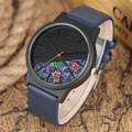 นาฬิกาข้อมือ Half Forest (Blue) Quartz Watch คุณภาพสูง 100%  ตัวเรือน : สแตนเลส วัสดุ : หนัง สีน้ำเงิน ประเภทเข็ม : Pin Buckle  เส้นผ่าศูนย์กลาง : 4.0 ซม ความกว้างสาย : 2.0 ซม ความยาวสาย : ประมาณ 23.0 ซม  Free! - กล่องเก็บนาฬิกา - ส่งพัสดุฟรี ไม่เสียค่าส่ง