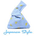 Kimono Handbag  กระเป๋าผ้า คล้องแขนสไตล์ญี่ปุ่น  Color :: ฟ้า ลาย Banana ขนาด :: 32*24 cm  PS.- ส่งฟรี!  #กระเป๋า #กระเป๋าผ้า #กระเป๋าถือ
