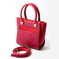 กระเป๋าสะพายลายเกล็ดงู ในสีแดงไม่เหมือนใคร รุ่นนี้ได้รับแรงบันดาลใจมาจากกระเป๋าทรง Trapeze ที่ให้ความรู้สึกแบบผู้หญิง Working Women ผลิตจากหนัง PU เกรด Premium ที่ดีที่สุด  น้ำหนักเบา และทำความสะอาดง่าย  ภายในมีช่องใส่ของที่แยกเป็นระเบียบ ทำให้จุของได้เยอะ  มาพร้อมสายสะพายถอดออก-ปรับสั้นยาวได้ถึง 3 ระดับ  KATE  วัสดุ : PU Import premium ขนาด : 19x20x10 cm ,ปากกระเป๋า 27 cm สี : แดง Red Wine ราคา : 2,190 สายสะพายยาว ปรับได้ 3 ระดับ zip : Y K K ด้านใน : ผ้าซาตินอย่างดี มีช่องซิป 1 ช่อง กับ 1 ช่องใส่ของใหญ่  #กระเป๋า #กระเป๋าสะพาย #กระเป๋าผู้หญิง #กระเป๋าถือ