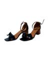 Lucy 1.1  Color: ดำ Black Size: 36-39 (ควรลด1ไซส์ค่ะ) Price: 1190 Promotion!! ลด 30% เหลือ 833 บาท ส่งฟรีลงทะเบียน  #รองเท้า #รองเท้าผู้หญิง #รองเท้ารัดส้น #รองเท้าส้นสูง