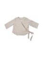 """ชื่อสินค้า : Foak Tie by side  เสื้อแขนยาว คอวี แบบผูกเอว สี Olive ใช้ผ้าลินินอย่างดี ผ้ามีความเงา ใส่สบาย สาวๆสายชิวไม่ควรพลาดนะจ๊ะ  สี : เขียวมะกอก / เบจ / สีเทาฟ้า Size: chest 38"""" / length 21.5""""  #เสื้อผ้าผู้หญิง #เสื้อผู้หญิง #เสื้อคอวี #เสื้อแขนยาว"""