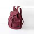SPECIFICATION ///////////////////////////// Over all size : 373813 cm Front pocket size : 14*16 cm Side pocket size : 23*26 cm Inside pocket size : 21*14 cm Color : แดง Red  BACKPACK CONCEPT ///////////////////////////////////// A design of this backpack was inspired by traveler's bag with high capacity and various functions. The design was reduced size and functions and keep only daily use functions. The ergonomic pattern design combine with premium canvas make the bag durable and comfortable support with your back from force distribution.  #กระเป๋า #กระเป๋าสะพาย #กระเป๋าเป้