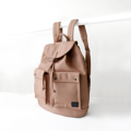 SPECIFICATION ///////////////////////////// Over all size : 37*38*13 cm Front pocket size : 14*16 cm Side pocket size : 23*26 cm Inside pocket size : 21*14 cm Color : น้ำตาล Brown  BACKPACK CONCEPT ////////////////////////////////////////// A design of this backpack was inspired by traveler's bag with high capacity and various functions. The design was reduced size and functions and keep only daily use functions. The ergonomic pattern design combine with premium canvas make the bag durable and comfortable support with your back from force distribution.  #กระเป๋า #กระเป๋าสะพาย #กระเป๋าเป้
