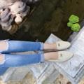 ใครที่มีปัญหาเรื่องหารองเท้าใส่ยาก ใส่แล้วไม่สวยเพราะหน้าเท้าใหญ่ ไม่กล้าใส่ทรงหัวแหลมกลัวใส่แล้วบีบเท้า กลัวรองเท้าหัวบานไม่เป็นทรง หรือใครที่ใส่รองเท้าแพงแค่ไหนก็โดนกัดตลอดๆ มาทางนี้ค่ะ !!!🌟 💕 รองเท้ารุ่น Present 🔸 นิ่มมาก เบา ใส่สบาย 🔸 เดินยังไงก็ไม่เมื่อย พื้นรองเท้าไม่แบนแต๊ดแต๋ 🔸 ลืมปัญหารองเท้ากัดไปได้เลย 🔸 เข้ากับทุกสไตล์การแต่งตัว ไม่ต้องคิดมากวันนี้ใส่คู่ไหนดี 🔸 เก็บรูปเท้าให้เรียวสวย 🔸 ใส่แล้วขาไม่ตันนะจ๊ะ 🔸 สีไหนก็ปัง ใส่แล้วเท้าไม่ดำ 🎐 ไซส์ 36-41  🎐 สี: ครีม  #WS128 #Carnivalbag #Presentshoes #รองเท้า #รองเท้าผู้หญิง #รองเท้าหุ้มส้น
