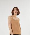สายเดี่ยว สีน้ำตาล Lisa Top Brown  ผ้าซาตินอีตาลี ลื่น ทิ้งตัว ใส่สบาย  ขนาด : อก 18 นิ้ว ความยาว 21 นิ้ว  #เสื้อผ้าผู้หญิง #เสื้อผู้หญิง #เสื้อสายเดี่ยว #สายเดี่ยว