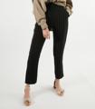 กางเกงขายาวสีดำ ลายทาง Risk Business Pant  ผ้าฮานาโกะ ลายทาง สีดำลายทางขาว  ขนาด  - เอว 13.5 นิ้ว   - สะโพก 19 นิ้ว  - ความยาว 39.5 นิ้ว สี : ดำ Black  #กางเกง #กางเกงผู้หญิง #กางเกงขายาว #กางเกงขายาวผู้หญิง #กางเกงผู้หญิงขายาว