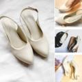 รองเท้าส้นสูง หัวแหลม ใส่แล้วเท้าดูเรียวสวย  รองเท้าทรงหัวแหลมรุ่นนี้ ที่ทำออกมารองรับหน้าเท้าที่กว้าง เหมาะกับใส่ทำงาน ออกงาน หรือ เป็น everyday shoe ได้ตามโอกาส                       คุณสมบัติ -สี Off White (ขาวครีม) -รองเท้าส้นสูง 2 นิ้ว เสริมฟองน้ำยางพารา เดินนุ่ม  -สายด้านหลังมียางยืด สวมใส่ง่าย  -สามารถปรับสายได้  หนังด้านนอก :ไมโครไฟเบอร์ ซึ่งมีความทนทาน เทียบหนังแท้ ไม่อับชื้น และไม่ลอกง่าย หนังด้านใน : หนังเทียมคุณภาพสูง  พื้นใน : เสริมฟองน้ำ  รองเท้าขนาด มาตราฐาน size  35-40 เป็นรองเท้า Handmade ผลิตในประเทศไทย  Size   ความยาวเท้า (cm .) 35.   22-22.5 36.    22.5-23 37.    23-23.5 38.    23.5-24 39.    24-24.5 40.    24.5-25  #รองเท้าผู้หญิง #รองเท้าส้นสูง #รองเท้าหัวแหลม #รองเท้าใส่สบาย #รองเท้าสวยๆ #รองเท้าผู้หญิงใส่สบาย #รองเท้ารัดส้นผู้หญิง #รองเท้าผู้หญิงรัดส้น #รองเท้าสีครีม #รองเท้ารัดส้นผู้หญิง #รัดส้น #รองเท้า #ส้นเข็ม #หัวแหลม #รองเท้าใส่ทํางาน #รองเท้าใส่สบาย  #comfyshoes  #รองท้าส้นสูง2นิ้ว