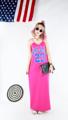 แม็กซี่สายเดี่ยวผ่าหลัง Freesize.  อกถึง 34 นิ้ว เอว 34-36 นิ้ว สะโพกถึง 42 นิ้ว ยาว 52 นิ้ว สี : ชมพู Pink  #เสื้อผ้าผู้หญิง #เดรส #เดรสยาว #เดรสสายเดี่ยว #สายเดี่ยว #เดรสยาวสายเดี่ยว