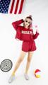 เสื้อแขนยาวเจาะรูแต่งขาดดึงใยผ้าทีละเส้นทำเซอร์งาน handmade  Freesize.   กางเกงขาสั้นแต่งขาดทำเซอร์ทรงเอวสูง Freesize.  สี : แดง Red  #เสื้อผ้าผู้หญิง #เสื้อผู้หญิง #เสื้อแขนยาว #เสื้อคอกลม #กางเกง #กางเกงผู้หญิง #กางเกงขาสั้น #กางเกงขาสั้นผู้หญิง #กางเกงผู้หญิงขาสั้น