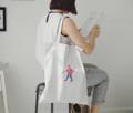 """SAVE THE WORLD !!!!  NO MORE PLASTIC BAG !!!!  1 size > สูง : 18.5"""" > กว้าง : 15.5"""" > สายยาว : 21""""   * งานปักฉบับ KATJI เหมือนเดิม^^ **รับน้ำหนักกระเป๋าคอมได้"""