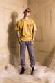 ชื่อสินค้า : Handle with care mustard tee รายละเอียด : เสื้อยืดแขนสั้น ผ้า Cotton 100 % ด้านหน้า และด้านหลังสกรีนลายกราฟฟิก  รอบอก : 44 inch  ความยาว : 28 inch  เนื้อผ้า : Cotton Spandex 100%