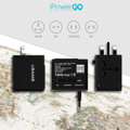 ipowergoUSAMS Travel Charger Dual Ports รุ่น T2 USB OUTPUT 1A /AC OUTPUT 6.0A ตอบโจทย์สำหรับนักเดินทางของคุณได้ด้วยอะแดปเตอร์ 4in1 ใช้ได้ทั้ง US/AU/EU/UK มาพร้อม 2 ช่อง USB และ 1 ปลั๊ก หัวแปลงปลั๊ก 4 แบบ สลับได้ในตัว ไม่ต้องเปลี่ยนหัว รองรับตามฐานในประเทศ US, UK, EU, AU, KR, CHINA  (เหมาะสำหรับการแปลงขาปลั๊กไฟในโซนประเทศยุโรป, อเมริกาใต้, ตะวันออกกลาง, จีน, ไทย, ญี่ปุ่น, ไต้หวัน, ออสเตรเลีย, นิวซีแลนด์, ฮ่องกง, อังกฤษ, สิงค์โปร์, มาเลเซีย ) 3 ขา (the britishstandard) UK/China/hongkong/singapore 2 ขา (the us standard)Japan/China/Taiwan/Thailand/America 2 ขา (the Chaina mainland) Austrilia New Zealand  2 ขากลม (the european standard)Germany/France/Korae/Thailand  ข้อมูลทั่วไป -อะแดปเตอร์ชาร์จไฟแบบ USB - วัสดุ ABS+PC เกรดคุณภาพ -USB OUTPUT 1 แอมป์ /AC OUTPUT 6.0 แอมป์ -พอร์ต USB สำหรับชาร์จอุปกรณ์ 2 ช่อง -มาพร้อมหัวแปลงปลั๊ก 4 แบบ ใช้งานได้กับปลั๊กไฟทั่วโลก -ดีไซน์เล็กกะทัดรัด พกพาได้อย่างสะดวก -รองรับการรีชาร์จ Tablet - ได้รับมาตราฐานสากล FC , CE , CCC , RoHS - ขนาด 6.2 x 5.5 x 4.5cm - น้ำหนัก 93 g