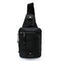 PACK UP VOLUNTEER กระเป๋าคาดอก รุ่น 1590-10 - สีดำ  กระเป๋าสะพายคาดอก รุ่น VT 1590-10 - สีดำ ขนาด : 17 x 8 x 39 (กว้าง x ลึก x สูง, ซม.)  - ใช้เป็นกระเป๋าคาดอก - สายสะพายหนา แข็งแรงทนทานปรับระดับได้ ตามสรีระของผู้ใช้ - มีช่องซิปด้านหน้า 2 ช่อง - ช่องซิปหลัก ใช้ซิปขนาดใหญ่เบอร์ 10 มีความทนทานสูง - ช่องซิปหลัก มีช่องซิปด้านในสำหรับแยกจัดเก็บสัมภาระ - ด้านหลังมีช่องเก็บของอเนกประสงค์อีกหนึ่งช่อง ใช้เก็บสัมภาระสำคัญติดตัว เช่น ธนบัตร, Passport หรือ เครื่องเล่น MP3 เป็นต้น สามารถเจาะเพื่อให้สายหูฟังรอดผ่านออกมาจากกระเป๋าได้