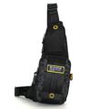 กระเป๋าสะพายคาดอก ผ้ากันน้ำ รุ่น VT 1513-24 - สีดำ ขนาด : 13 x 5 x 38 (กว้าง x ลึก x สูง, ซม.)  - ใช้เป็นกระเป๋าคาดอก ดีไซน์ให้เข้ารูปกับสรีระ - สายสะพายปรับระดับได้ ตามสรีระของผู้ใช้ - มีช่องกระเป๋าหน้า 2 ช่อง - ช่องซิปหลัก ใช้ซิปขนาดใหญ่เบอร์ 10 มีความทนทานสูง - ช่องซิปหลัก มีตะขอสำหรับห้อยพวงกุญแจ ช่วยให้สะดวกในการหยิบใช้