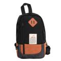 กระเป๋าสะพายคาดอก รุ่น IP0105 (สีดำ) ขนาด : 16 x 10 x 27 (กว้าง x ลึก x สูง, ซม.)  - สายสะพายปรับระดับได้ สามารถสะพายได้ทั้งด้านซ้ายและด้านขวา - ด้านหลังกระเป๋าบุฟองน้ำ ช่วยให้อากาศถ่ายเทได้ดี ลดอาการเหงื่อออกขณะสะพาย - มีช่องกระเป๋าหน้า 1 ช่อง - ช่องซิปหลักมีช่องสำหรับใส่ Smartphone และแบตสำรอง - มีช่องซิปเล็กด้านในกระเป๋า สำหรับใส่สิ่งของมีค่า
