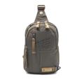 PACK UP กระเป๋าคาดอก รุ่น VT1667-01 - สีเขียว - มีน้ำหนักเบา- มีคุณสมบัติ Water-Resistant- สายสะพายหนา แข็งแรงทนทานปรับระดับได้ ตามสรีระของผู้ใช้- สามารถสับเปลี่ยนสะพายได้ทั้งซ้ายและขวา- มีช่องใส่สัมภาระเยอะ  ขนาด : 18 x 7 x 28 ซม. (กว้าง x ลึก x สูง)