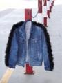"☀️❄️สำหรับคนหนีร้อนไปตปท ต้องมีเด้อ☀️❄️ Item: black-fur Jacket 🐺 Size: Oversize (ยาว 29"") _____________________"