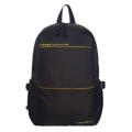 """PACK UP FOUVOR กระเป๋าเป้รุ่น 2538-28 (สีดำ) กระเป๋าเป้ ผ้ากันน้ำ รุ่น FV 2538-28 ขนาด : """"30 x 13 x 45"""" (กว้าง x ลึก x สูง, ซม.)  - ผลิตจากผ้าไนล่อนเคลือบสารกันน้ำ - ด้านหลัง และสายสะพายบุฟองน้ำ ทำให้มีอากาศถ่ายเทขณะสะพาย ลดอาการเหงื่อออกขณะสะพาย - สายสะพายปรับระดับได้ ตามสรีระของผู้ใช้ - มีสายรัดหน้าอก เพื่อความคล่องตัวในการเดินทาง - มีช่องด้านข้างสำหรับใส่ใส่ขวดน้ำ หรือร่ม - มีช่องซิปด้านหน้า 2 ช่องสำหรับใส่อุปกรณ์ที่ใช้บ่อยครั้ง - ช่องซิปหลักด้านในมีช่องบุฟองน้ำสำหรับใส่ Laptop ขนาด 15 นิ้ว - ช่องซิปหลักด้านในมีช่องย่อยสำหรับแยกจัดเก็บสัมภาระ เช่น ปากกา, Smartphone, Power Bank เป็นต้น"""