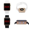 คุณสมบัติ - หน้าปัดแสดงตัวเลขดิจิตอลดูเวลาง่าย การแสดงบนหน้าปัด บอก เวลา 24 ชั่วโมง เดือนและวัน มองตัวเลขได้อย่างชัดเจนในแสงสว่างมาก-น้อย - สายนาฬิกาผลิตจากวัสดุ Silicone Dioxide  ตัวเรือนผลิตจาก ABS (Acrylonitrile Butadiene Styrene) - กันน้ำได้ 50 เมตร - สายปรับขนาดได้ตามข้อมือของผู้สวมใส่  ขั้นตอนและวิธีการตั้งเวลา กดปุ่มด้านล่างค้างไว้จนกว่าตัวเลขบนหน้าจอจะกระพริบ สังเกตว่า การกระพริบครั้งแรก เป็นโหมดการปรับ ชั่วโมง (ด้านของตัวเลข ชั่วโมงจะตัวอักษณ A คือ AM / และ P คือ PM) หลังจากเลือกตัวเลขที่ตัวเลขไปตามเวลาที่ต้องการตั้งเวลา (ชั่วโมง) และกดค้างไว้ หลังจากนั้นตัวเลขจะเปลี่ยนมายังโหมดการปรับ นาที ทำเช่นเดิมเลือนเวลาไปตรงตามต้องการ และกดค้างไว้เหมือนเดิม เมื่อตั้งเวลาเสร็จแล้ว หากต้องการตั้งค่าในส่วนของ ปี เดือน วัน ก็กลับไปกดค้างที่ปุ่ม ในการตั้งค่าเปลี่ยนไป โดยจะเรียงลำดับ คือ ชั่วโมง, เวลา, ปี, เดือน, วัน  จัดส่งพร้อมกล่องนาฬิกาและหมอนรองนาฬิกา  ตัวเรือนขนาด 4.2 x 3.6 ซม หนา 1.3 ซม..  ความกว้างของสาย 3 ซม. ความยาวของสายรวมตัวเรือน 25 ซม.