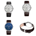 Mcykcy Quartz Ultra-thin Wrist นาฬิกาข้อมือสายหนัง พร้อมหน้าปัดแบบ 3 Quartz  คุณสมบัติ - กระจกเรซิน Plexiglass Mirror - วัสดุตัวเรือน / กรอบ: Alloy - สายหนัง - การบอกเวลาแบบทั่วไป - อะนาล็อก: เข็มนาฬิกา 3 เข็ม (ชั่วโมง นาที วินาที) - ความแม่นยำ: 20 วินาทีต่อเดือน - คุณสมบัติพิเศษ Water Resistant, Shock Resistant - อายุการใช้งานแบตเตอรี่ประมาณ: 3 ปีกับถ่านกระดุม SR626SW  ขนาด: เส้นผ่านศูนย์กลางหน้าปัด 3.8 cm,  สายหนัง 3 x 25 cm   น้ำหนักรวม: 0.035kg