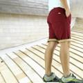 PANTS STATION 68 กางเกงขาสั้น พับปลายขา ฟอกนุ่ม COTTON 100%  AR 68
