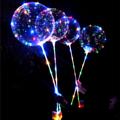 งานเซอไพรส์ต้องมี Home Studio ขอเสนอ Led Light Emitting Balloon เพียงเป่าลมในลูกโป่งแล้วใส่สายไฟลงไป สายไฟมาให้เลือกถึง 2 สี ทั้ง Warm white หรือ Colorful 4 สี โรแมนติคสุดๆ สวยมากๆ คนรับยิ้มหน้าบานแน่นอนค่า   1ชุด ประกอบด้วย: ลูกโป่ง 1 ลูกและชุดไฟ 1 กล่องค่า