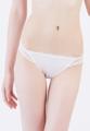 ทางบริษัทฯ ขอสงวนสิทธิ์ในการไม่รับเปลี่ยนหรือคืนสินค้าในหมวดชุดชั้นในKyraHannah Bikini   กางเกงชั้นใน Sexy ทรงบิกินี่   เอวต่ำ   ด้านหน้าตัดเย็บผ้าลูกไม้   ด้านข้างและด้านหลังผ้าเน็ตจุด   สวมใส่สบาย