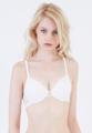 ทางบริษัทฯ ขอสงวนสิทธิ์ในการไม่รับเปลี่ยนหรือคืนสินค้าในหมวดชุดชั้นในเสื้อชั้นใน   Hannah ด้วยนวัตกรรมใช้ผ้า Sapcer ปั๋มขึ้นรูปเต้าโมลด์ น้ำหนักเบาและระบายอากาศได้ดีสวมใส่สบายเหมาะเป็น Everyday  bra สุดๆ   บราเสริมโครง   เต้าทรงบราตัดเย็บผ้าลูกไม้ ด้านข้างผ้าเน็ตจุด   ทรง 3/4 คัพ สายบ่าสามารถปรับระดับได้   ตะขอด้านหลัง   ตรงกลางประดับด้วยโบว์และจี้เพชร   สวมใส่ีสบาย ขนาดกระชับพอดีทรง