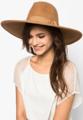หมวกฟรีดอร่าปีกกว้าง เย็บขอบ ทรงสวย ทำจาก Wool 100% สวยหรูและคลาสสิค