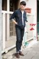 """รหัสสินค้า>>TJ139   New Arrival  >>   by TBY Jeans. แจ็คเก็ตยีนส์ ผ้ายืด สีมิดไนท์บลู ฟอกยับริง คอปก แต่งกระเป๋าหน้า >>>>ใส่เท่ห์ๆ ได้ทุกฤดูกาล <<<<<  ขนาด ไซร์>>>S.M.L.XL. >>  S  อก 38""""   ความยาว 26"""" >> M  อก 40""""  ความยาว 26.5"""" >> L   อก 42""""   ความยาว  27""""  >> XL อก 44""""  ความยาว 27.5""""  ***ราคา  1,290 บาท ***  #TJ139 #tbyjeans. #jeansonline. #jeansthailand. #thaijeans. #darkjeans. #slimjeans. #jeansshop.#jeansstore. #salejeans.#bootcut. #bootcutjeans.#cpsjeans. #jeansshoppingonline. #ยืนส์คุณภาพ #ยีนส์ผู้หญิง"""
