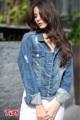"""รหัสสินค้า >>TJ.145  หนาวนี้สบายๆ>>Jacket jeans แต่งปลายแขน และชายเสื้อ สีไบโอขัดด่าง ฟอกขัดขาด เนื้อผ้านิ่มเกรดA(ไม่ยืด) เหมาะกับสาวสวย!! เปรี้ยว !! ทุกสไตร์  ขนาด size >>S .M.L.XL. S.  อก>> 32-33"""" M.  อก>> 34-35"""" L.   อก>> 36-37"""" XL. อก>> 38-39""""   *** ราคา 1,190 บาท **  #TJ145 #tbyjeans. #jeansonline. #jeansthailand. #thaijeans. #darkjeans. #slimjeans. #jeansshop.#jeansstore. #salejeans.#bootcut. #bootcutjeans.#cpsjeans. #jeansshoppingonline. #ยืนส์คุณภาพ #ยีนส์ผู้หญิง"""
