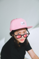 หมวกรุ่น Vavia Baseball Cap  Price : 350 THB ( จัดส่งฟรีลงทะเบียน ) Colors : Pink Material : Polyester Size : Free Size ( adjustable) Adjustable Snap : Tab Strap