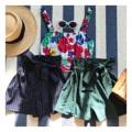 "Pin Stripe Shorts : กางเกงรุ่นนี้พร้อมส่งเลยนะคะสาวๆ ทรงสวยมีเชือกผูกเอวนิดๆ ให้ดูมีอะไร ใส่ง่ายสบายๆ แต่ดูเก๋สะดุดสายตาต้องรุ่นนี้เลยน้า บอกเลยว่าจะหมดเร็วมากเพราะความเก๋และดูแพงใส่ยังไงก็สวยก็ปัง จองได้เลยค่า (Price ฿590) . Color เขียวเข้ม , น้ำเงินเข้ม Size เอว 25""-30"" สะโพก 35""-38"" ______________________________ - Add to cart : Line ID @mermaidbackyard - Store Location : Raw You Here Food & Friends Rayong"