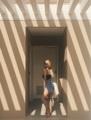 """กางเกงปักหมุดข้าง ไอเท่มที่ใส่ได้ตลอดปี  แมทช์กับเสื้อผ้าง๊ายง่าย สั่งทำได้ตั้งแต่เอว  23-30""""อัพ แจ้งเอว สะโพก ทางแชทนะคะ   #shortjeans #highwaist #jeans #summer"""