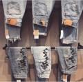 """Made to order   กางเกงที่ร้านใช้คือกางเกงมือสองนะคะ  สีจะต่างกันแล้วแต่ไซส์ ทรงกางเกงกระบอกเล็ก งานทำหลังลูกค้าชำระเงินรองาน7-10วัน  แจ้งเอว สะโพก ทางแชท  เอว 23-32"""" นะคะ"""