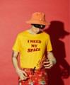 Need my space tee ผ้า cotton สกรีนลาย กำมะหยีสีแดง ราคา 490 --- Size : S / M / L / XL