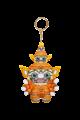 Ramakien Guardian Keychain - SAHASSADEJA (ตุ๊กตาพวงกุญแจรามเกียรติ์ สหัสเดชะ)  รายละเอียดสินค้า • ขนาด (W)75 x (D)36 x (H)150 mm • น้ำหนัก 35 g • ผลิตจากผ้า Polyester