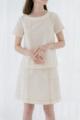 """Cotton Dye Skirt  Size S waist 26"""" hip 36"""" length 18.5"""" M waist 28"""" hip 38"""" length 18.5""""  L waist 30"""" hip 40"""" length 19""""  Color : Cream/ Ocean/ Grey  Price : 1,190.-  กระโปรงผ้าคอตตอนแต้มสี ทรงเอ ใส่แล้วผอมเพรียว เพิ่มดีเทลเดินเส้นคู่คล้ายกระโปรงยีนส์ แต่งกระเป๋าสองข้าง ซิปข้าง และกระดุมปั้มผ้าลายเดียวกันด้านข้างเพิ่มดีเทล แมทซ์กับเสื้อได้หลายแบบ หลายลุค ทั้งเสื้อเชิ้ต เสื้อยืด หรือเสื้อกล้าม หรือจะแมทซ์เป็น set ก็เข้ากันค่ะ"""