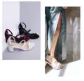 รองเท้าส้นสูง รัดข้อ สูง 2 นิ้ว (5.5cm) ฟองน้ำหนา 1 cm รับประกันความนุ่มเมื่อเท้าสัมผัส  กำลังอินเทรนด์ สำหรับรองเท้า Strappy Style ให้คุณได้โชว์เท้า โชว์เล็บสวยๆ ใส่ทำงาน  หรือใส่เดินเที่ยว  สายรัดข้อสามารถปรับได้ และถอดใส่ง่าย  วัสดุ Man-made Material ผลิตจากหนังไมโครไฟเบอร์แท้* คุณภาพสูง ไม่ใช้หนังสัตว์ (สีเบจ สีดำ สีขาวมุก) คุณสมบัติ ทนทานต่อความชื้น  หนังทนทานเทียบเท่าหนังสัตว์ น้ำหนักเบา เป็นมิตรกับสิ่งแวดล้อม  รองเท้ามี size 35-40  สีเบจ 36,38,39,40 ดำ 35,36,37,38,39,40 ขาว 35,36,37,38 แดงม่วง 38,39,40  พื้นเสริมฟองน้ำ  งาน Handmade คุณภาพ Man-made Material  เสริมฟองน้ำอย่างดี  Size   ความยาวเท้า (cm .) 35.   22-22.5 36.    22.5-23 37.    23-23.5 38.    23.5-24 39.    24-24.5 40.    24.5-25  ใส่ไม่ได้เปลี่ยน size ได้นะคะ สำหรับลูกค้าเท้าเรียวบาง แนะนำลด size 1 size เช่น ปกติใส่ 38 -> เลือกเป็น 37  Line: @missypeachy Instragram : missypeachy_official www.missypeachy.com
