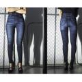 """รุ่น BJLKH-1025 สีกรมท่า """"BJ JEANS กางเกงยีนส์กันแดด รุ่น """"UV Protection UPF 50+ Jeans"""" มีน้ำหนัก 11 Oz. ซึ่งผ่านกระบวนการผลิตจากการนำผ้าผ้ายีนส์ที่ทอจากเส้นใยพิเศษ โดยไม่ผ่านการเคลือบน้ำยากันแดดใดๆ  เส้นใยพิเศษนี้ จะป้องกันทั้งแสงแดด UVAและ UVB  ซึ่งป้องกันการเกิดไม่ให้ผิวแก่ก่อนวัย ปราศจากรอยเหี่ยวย่น และจุดด่างดำตามผิวหนัง ปกป้องแสงแดดได้ถึง UPF 50+  และผ้ายีนส์ที่ผลิตออกมา ยังคงความมีความยืดหยุ่น ผ้านิ่ม ใส่สบาย     ไม่อึดอัด """"  #กางเกงยีนส์ #กางเกงขายาว"""