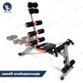 Six Pack Care Plus 6 (SPC-2)  เครื่องเดียวที่ให้คุณบริหารร่างกายได้ทุกสัดส่วน สามารถปรับระดับได้ ตามรูปร่างของผู้ใช้งาน เพิ่มพื้นที่สำหรับท่าวิดพื้น หรือใช้เป็นที่เกี่ยวขาได้ ในกรณีใช้งานหน้าบริหารหน้าท้อง หรือซิทอัพกลางลำตัว เครื่องออกกำลังกาย Six Pack Care สามารถปรับระดับ ความสั้น ความยาวของเครื่องได้ตามสรีระร่างกายของผู้เล่น หรือปรับเปลี่ยนตามท่าทางการออกกำลังกาย เส้นสริง ของเครื่องออกกำลังกาย Six Pack Care สามารถปรับระดับสปริงได้ถึง 3 ระดับ เนื้อสปริงคุณภาพเกรดเอ หนา แข็งแรง ทนทาน ตัวเครื่องออกกำลังกาย Six Pack Care สามารถปรับระดับการเอนขององศา ของท่าการซิทอัพได้ 3 ระดับ -------------------------------------  สามารถเอนตัวในท่า Sit Up ได้ถึง 180 องศา ช่วยเพิ่มประสิทธิภาพในการบริหารหน้าท้อง  เพิ่มหมอนรองศีรษะและช่วงคอ ช่วยป้องกันการบาดเจ็บระหว่างการทำ Sit Up หมอนรองทำจากฟองน้ำ SPONGE ที่มีความยืดหยุ่น และอ่อนนุ่มเหมือนฟองน้ำทะเลธรรมชาติ สามารถรองรับน้ำหนักได้ดี ลดแรงกระแทกที่เกิดขึ้นระหว่างการออกกำลังกาย  ตัวเครื่องออกแบบมาเป็นพิเศษ วัสดุที่ใช้เกรดเอ แข็งแรง ทนทาน มากขึ้นเป็นเท่าตัว  สปริงแรงต้านใหม่ที่มีคุณภาพสูง หมดปัญหาเรื่องสปริงแรงต้านรุ่นเก่าที่หลุดและขาดง่าย  สปริงรุ่นใหม่ ปรับง่าย เพียงแค่ยกแล้ววาง  เพิ่มส่วนขาเพื่อใช้บริหารขาในการการบริหารร่างกาย สามารถปรับแรงต้านได้ 3 ระดับ  ใช้บริหาร หน้าท้องส่วนบน ล่าง ด้านข้างทั้งซ้าย-ขวา และส่วนหลัง ช่วยให้หน้าท้องกระชับได้ตามแบบที่คุณต้องการ บริหารส่วนกลางลำตัวทั้งหมดได้อย่างสมบูรณ์แบบเพื่อการสลายไขมัน เสริมสร้างกล้ามเนื้อหน้าท้องได้อย่างรวดเร็ว ------------------------------------- คุณสมบัติ - อุปกรณ์บริหารร่างกาย  - ขนาดตัวสินค้า 35x125x98 ซม.  - น้ำหนักสุทธิ 12 กิโลกรัม  - เนื้อวัสดุ เหล็ก+พี ยู โฟม  - โฟมรองแผ่นหลัง 6 ลูก  - เบาะรองหลังเอนได้ถึง 180องศา  - มีสปริงแรงพิเศษ 4 เส้น ข้างล่ะ 2 เส้น - ที่พักวางขาไว้สำหรับออกกำลังกายแบบ TWIST  - สินค้าประกอบเองพร้อมคู่มือการประกอบ