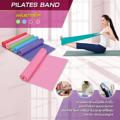 แผ่นยางยืดออกกำลังกาย Pilates Band  เหมาะกับการบริหารกล้ามเนื้อ ไม่ว่าจะเป็นพิลาทิส โยคะ หรือฟิตเนส นอกจากนั้นยังสามารถนำไปประยุกต์ใช้กับการเล่น  Cardio, Yoga, Pilate เพื่อเบิร์นไขมันได้อีกด้วย แผ่นยางยืดจะช่วยให้คุณยืดกล้ามเนื้อได้มากขึ้น  ใช้ได้กับการออกกำลังกายทุกประเภท  พกพาสะดวก ทำให้คุณสามารถออกกำลังกายได้ทุกที่  ด้วยลักษณะที่เป็นแถบผ้า ที่มีน้ำหนักเบา มีความยืดหยุ่นสูง  ทำให้ดึงแล้วสามารถคุมกล้ามเนื้อได้ง่าย  จึงเหมาะกับการบริหารกล้ามเนื้อมัดเล็ก   มีสี ฟ้า เขียวอ่อน ชมพู  ขนาด :1500 มม.*150 มม.*0.35 มม. ขนาดแรงต้าน : 18 ปอนด์ วัสดุ : ยางธรรมชาติ