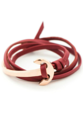 Modern and stylish Friday Dapper leather bracelet is perfect for the office or a night on the town. Designed from high quality american leather and stainless steel rose gold maritime anchor cuff is designed to last.   American Leather  Adjustable to any length  Rose Gold 316 L Stainless Steel