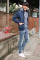 """รหัสสินค้า>>TJ.144   New Arrival  >>   by TBY Jeans. Jacket jeans with Hood ผ้ายืด แต่งซิปหน้า แขนและชายเสื้อจั้ม >>>>ใส่ฟินได้ ทุกสไตร์ <<<<<  ขนาด ไซร์>>>S.M.L.XL.2XL  >>  S  อก 38""""   ความยาว 24"""" >> M  อก 40""""  ความยาว 24"""" >> L   อก 42""""   ความยาว  24.5"""" >> XL อก 44""""  ความยาว 25"""" >>2XL อก 46"""" ความยาว25"""" >>>>ราคา 1,290 บาท <<<<  การดูแลรักษา👖👖  Wash 30 C - ซักไม่เกิน 30 องศาเซลเซียส  No Bleach - ห้ามใช้สารฟอกขาว  Soft iron - รีดไฟอ่อน  Dry clean p- ซักแห้ง  Do not tumble dry - ห้ามปั่นแห้ง  Separated Wash - ควรแยกซัก  ----------------------------------------- *** ในกรณีที่มีการเปลี่ยนสินค้า*** ทางร้านคิดค่าจัดเปลี่ยนสินค้า 70 บาทต่อครั้ง โดยลูกค้าต้องแจ้งภายใน 3-5 วันหลังจากได้รับสินค้า สามารถเปลี่ยนได้เฉพาะขนาด  สินค้าต้องอยู่ในสภาพปกติ (ไม่ซัก ใส่แล้ว)  #TJ144 #tbyjeans. #jeansonline. #jeansthailand. #thaijeans. #darkjeans. #slimjeans. #jeansshop.#jeansstore. #salejeans.#bootcut. #bootcutjeans.#cpsjeans. #jeansshoppingonline. #ยืนส์คุณภาพ #ยีนส์ผู้หญิง ****สอบถามร้านค้าก่อนสั่งซื้อทุกครั้ง เนื่องจากสินค้ามีไม่ครบทุกไซส์"""