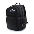 BP WORLD กระเป๋าเป้ รุ่น P01 - สีดำ ลายจุด ขนาดโดยประมาณ : 44 x 32 x 21 (สูงxกว้างxลึก,ซม.)  - ผลิตจากผ้าโพลีเอสเตอร์ เคลือบสารกันน้ำ แข็งแรงทนทาน - มีกระเป๋าหน้า 2 ช่อง มีช่องสำหรับเสียบปากกา, แบตสำรอง - กระเป๋าข้างสำหรับใส่ขวดน้ำหรือร่ม 2 ข้าง - ช่องกระเป๋าหลัก 2 ช่อง ด้านในมีช่องบุ EVA Foam สำหรับใส่ Laptop - ด้านหลังกระเป๋าบุโฟม ระบายความร้อน ลดอาการเหงื่อออกขณะสะพาย