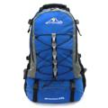 BP WORLD กระเป๋าเป้ รุ่น P03 (สีน้ำเงิน)    ขนาด 54 x 32 x 22 (สูง x กว้าง x ลึก, ซม.)    - ผลิตจากผ้า เคลือบสารกันน้ำ    - มีกระเป๋าด้านข้างสำหรับใส่ร่ม หรือ ขวดน้ำ    - ด้านหลังกระเป๋าบุฟองน้ำระบายอากาศ ลดอาการเหงื่อออกขณะสะพาย    - มีสายรัดคาดอก และคาดเอว สำหรับเพิ่มความกระชับขณะเดินทาง    - มีช่องกระเป๋าหน้า 2 ช่อง    - ช่องกระเป๋าหลักมีช่องสำหรับใส่ Laptop ด้านในกระเป๋า