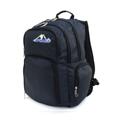 BP WORLD กระเป๋าเป้ รุ่น P01 - สีกรม ลายจุด ขนาดโดยประมาณ : 44 x 32 x 21 (สูงxกว้างxลึก,ซม.)  - ผลิตจากผ้าโพลีเอสเตอร์ เคลือบสารกันน้ำ แข็งแรงทนทาน - มีกระเป๋าหน้า 2 ช่อง มีช่องสำหรับเสียบปากกา, แบตสำรอง - กระเป๋าข้างสำหรับใส่ขวดน้ำหรือร่ม 2 ข้าง - ช่องกระเป๋าหลัก 2 ช่อง ด้านในมีช่องบุ EVA Foam สำหรับใส่ Laptop - ด้านหลังกระเป๋าบุโฟม ระบายความร้อน ลดอาการเหงื่อออกขณะสะพาย