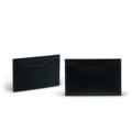 Product Detail  color : Black (ดำ) size : 7.2 (W) x 10 (L) x 0.3 (D) cm.  Product No. : 02874  รายละเอียดสินค้า • ใส่บัตรได้สูงสุดถึง 6 ใบ  • น้ำหนักเบา สไตล์เรียบ บาง ขนาดสะดวกต่อการพกพา • เหมาะสำหรับผู้ที่ชื่นชอบหนังแท้